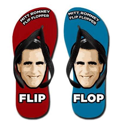 mitt romney flip flop