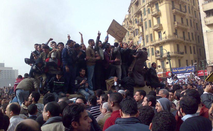 """Der """"Arabische Frühling"""" 2011"""
