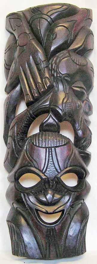 Afrikanische Holzplastik