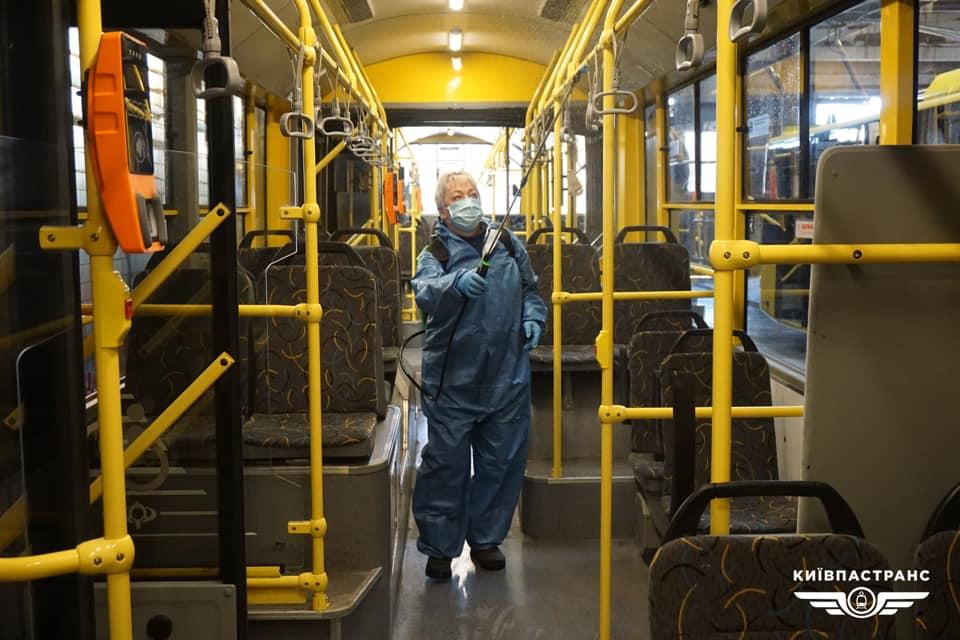 Транспорт Києва в умовах карантину