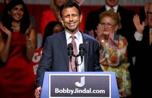 Bobby Jindall announces his run for the Presidency.
