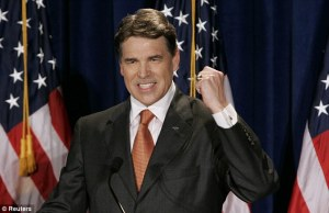 Rick Perry announces his run for the Presidency - Rick Perry Drops Out