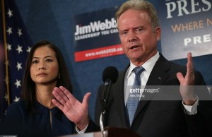 Jim Webb announces