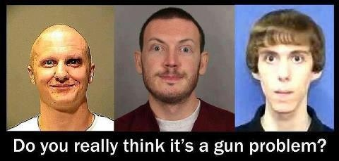 What is the problem? Guns or People?