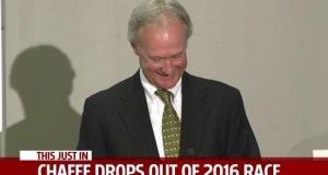 Lincoln Chafee drops out of Presidential Race