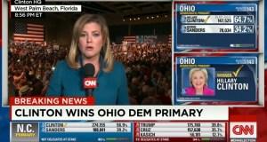 Hillary Clinton wins Ohio.