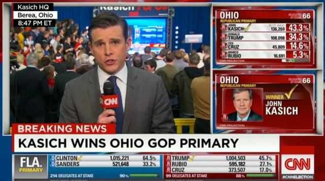 John Kasich wins Ohio