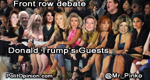 Donald Trump's DEBATE GUESTS