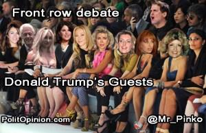 Donald Trump's DEBATE GUESTS