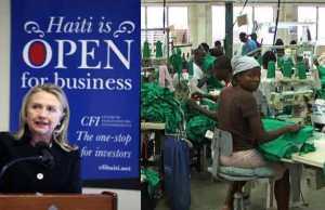 Clinton Rich Haiti