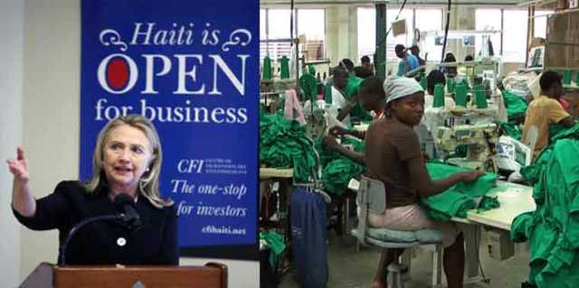 Clinton Rich Haiti