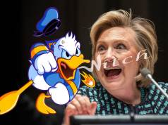 Hillary Clinton Donald Duck