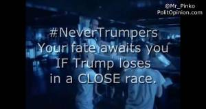 WARNING NeverTrumpers