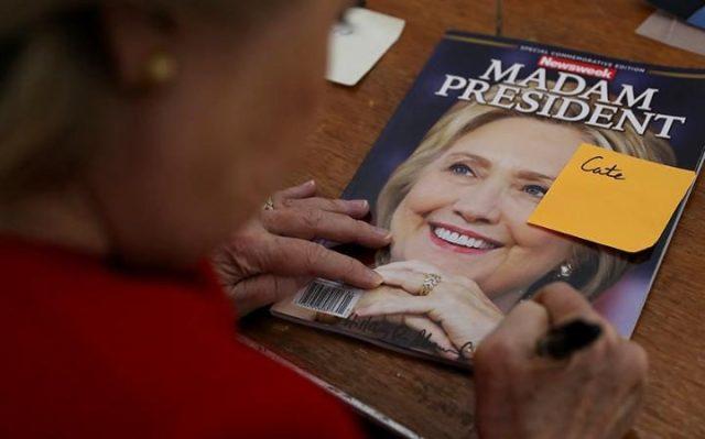 Hillary Newsweek Madam President