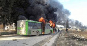 Terrorists Attack Buses