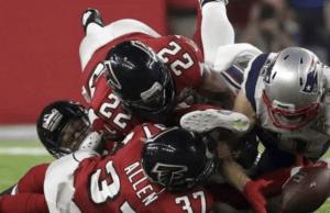Edelman miracle - Super Bowl LI