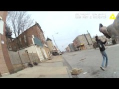 Watch Dramatic Baltimore Police Shooting