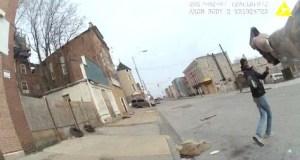 Watch Dramatic Baltimore Police Shooting