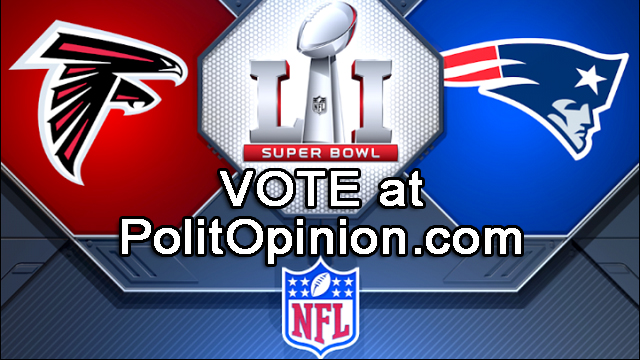 POLL SUPERBOWL SUNDAY