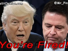 Comey, YOU'RE FIRED! (POLL) Did President Trump do the right thing? President Trump FIRES the F.B.I. Director James Comey