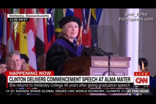 IMAGINE Hillary Clinton COUGHER In Chief (VIDEO)