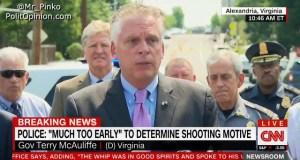 Idiot Virginia Governor Terry McAuliffe