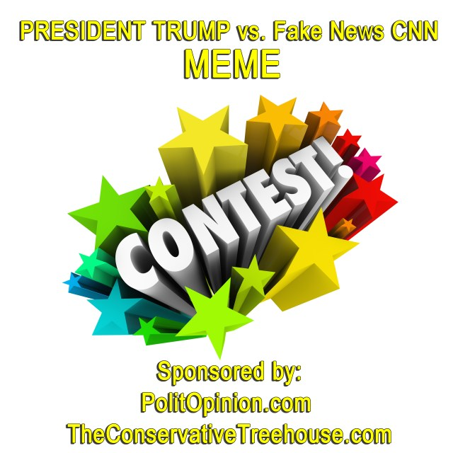 PRESIDENT TRUMP vs. Fake News CNN MEME CONTEST