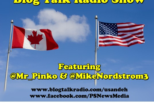 "TONIGHT! 8:00pm – 10:00pm EST The U.S.&Eh?! Show with Mike Nordstrom & @Mr_Pinko CALLER NIGHT! (323) 870-3371 Click on ""LIVE"" to listen to the show."