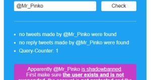 WTF? @Mr_Pinko Shadow Banned on Twitter!