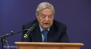 "George Soros Spooky Dude Predicts a ""Democratic Landslide in 2018"" Soros Calls Trump Administration a 'Danger to the World'"