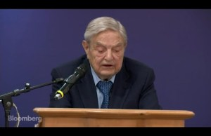 """George Soros Spooky Dude Predicts a """"Democratic Landslide in 2018"""" Soros Calls Trump Administration a 'Danger to the World'"""