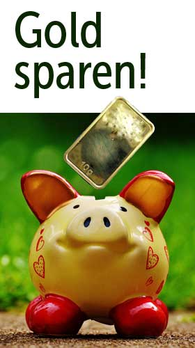 Goldsparplan Online - Promotioncode: 1103539