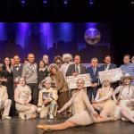 Dance-Company, KayWegermann, Innenminister Reul, RüdigerSchrenk Scheckübergabe