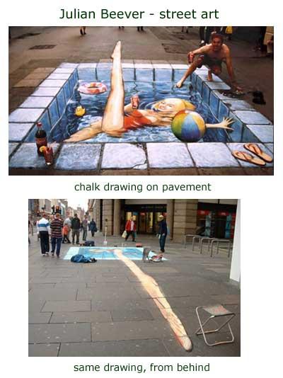 Julian Beever - street art