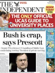 Bush is Crap - The Independent