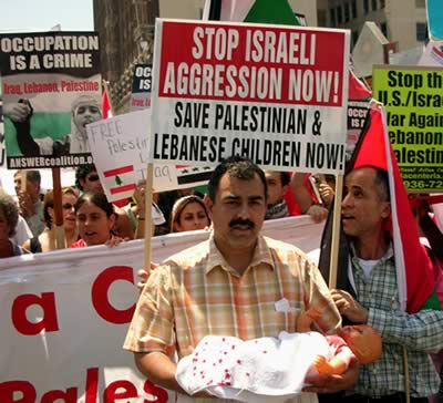 Stop Israeli aggression