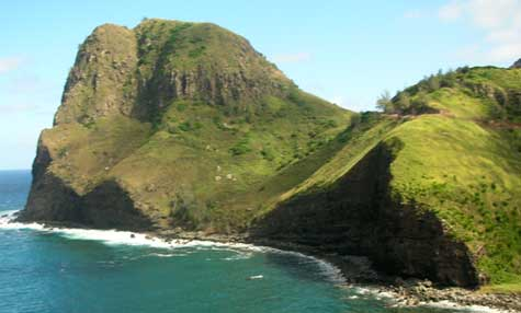 nothern Maui bluffs