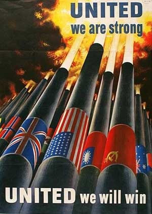 US WWII poster