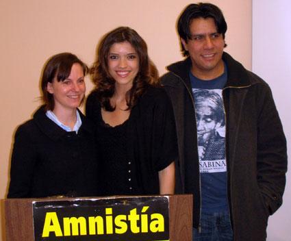 Tawnee Stair, Karina Garcia, Raul Rivera