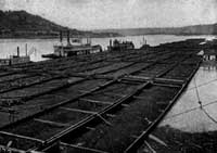 coal barges