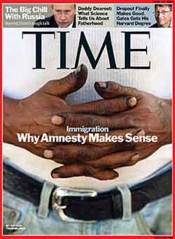 Time magaine backs amnesty