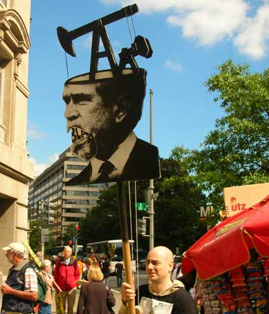 Bush's brain. March on DC. Sept 15 2007