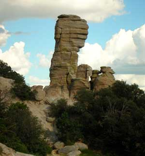 hoodoo rock Mt. Lemmon AZ