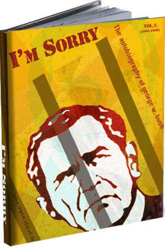 Bush bio book cover. joedelaplaine.com