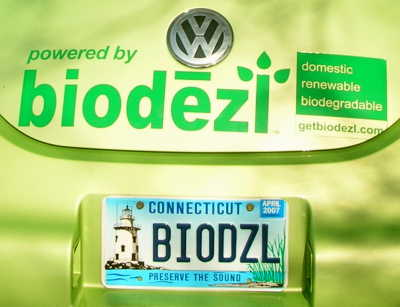 Biodiesel VW New beetle detail