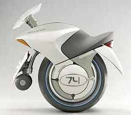 Embrio Hydrogen-powered one-wheel motorcycle