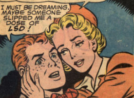 jimmy olsen on LSD