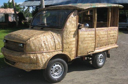 bamboo taxi