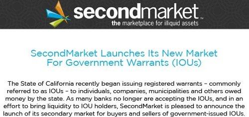 second market
