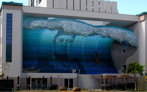 Mana Nalu Mural Project, Hawaii. John Pugh